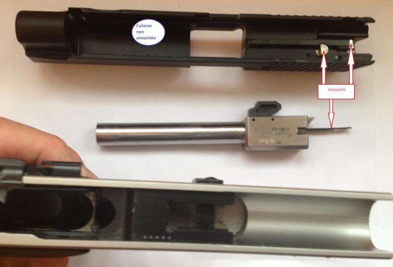 SIG P220 22 LR : Culasse fermée après la dernère cartouche ? Sigp2210