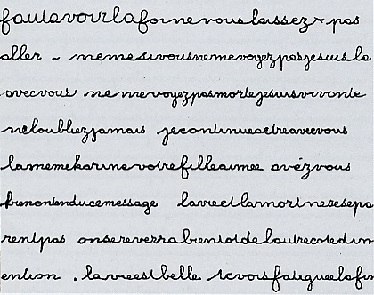 ecriture - L'écriture automatique 17913310