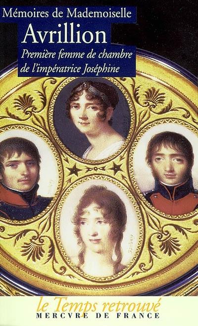 Mémoires de Mademoiselle Avrillion et qui concerne Melle Lenormand 97827110