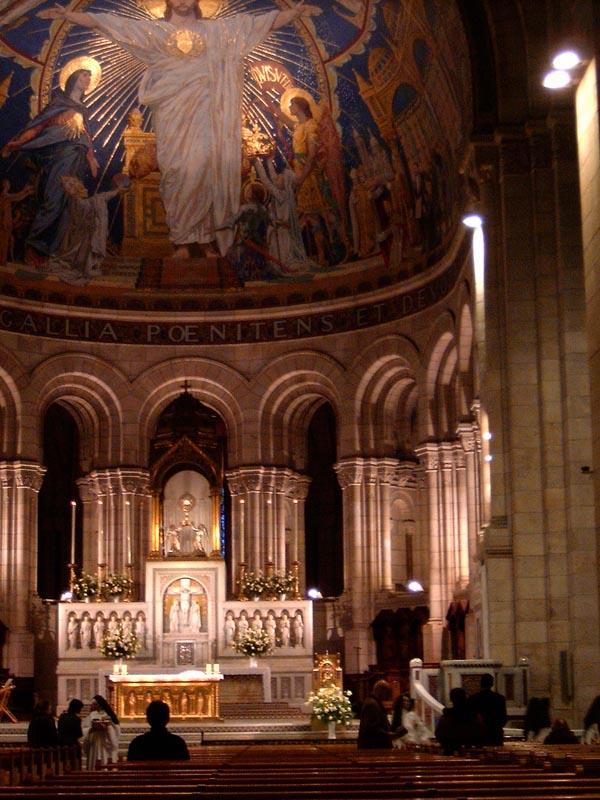 L'adoration eucharistique à la Basilique du Sacré Cœur de Paris Basili10