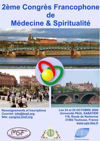 2e Congrès Francophone de Médecine et de Spiritualité Congre10
