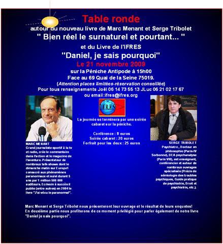 Conférence de Marc MENANT et Serge TRIBOLET Getatt10