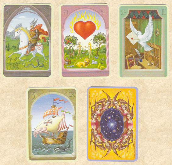 Les cartes mystiques de Melle LENORMAND par Urban Trôsch Mystiq11