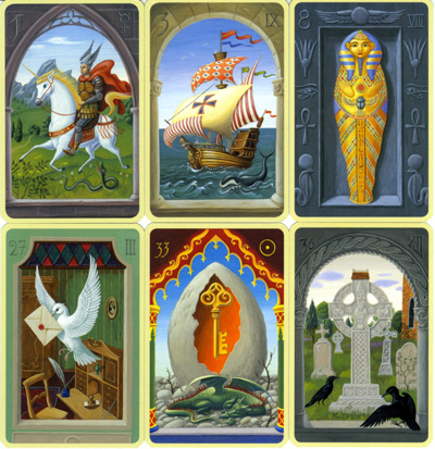 Les cartes mystiques de Melle LENORMAND par Urban Trôsch Mystiq13
