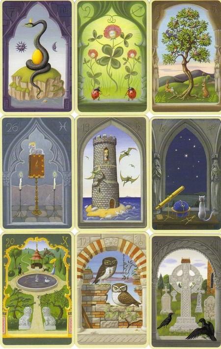 Les cartes mystiques de Melle LENORMAND par Urban Trôsch Mystiq14