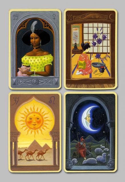 Les cartes mystiques de Melle LENORMAND par Urban Trôsch Mystiq15