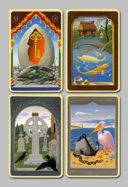 Les cartes mystiques de Melle LENORMAND par Urban Trôsch Mystiq16
