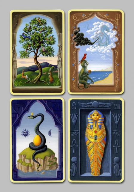Les cartes mystiques de Melle LENORMAND par Urban Trôsch Mystiq17