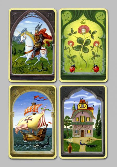 Les cartes mystiques de Melle LENORMAND par Urban Trôsch Mystiq18