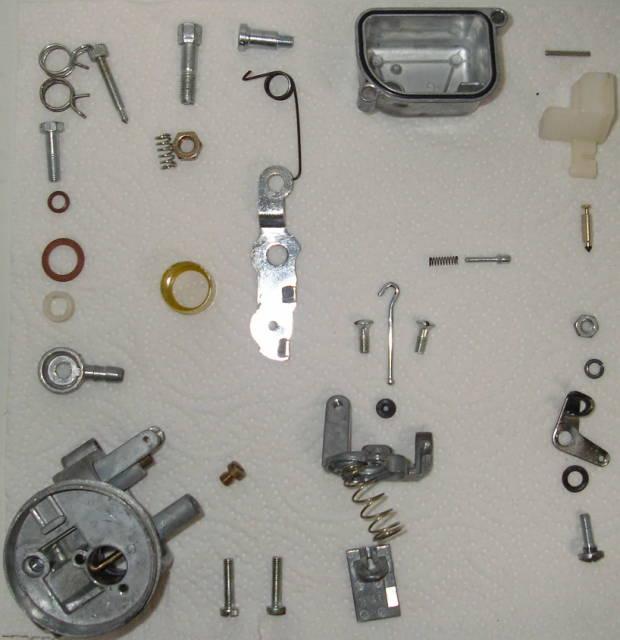 demonter son carburateur ( en vue du nettoyage ) 20060410