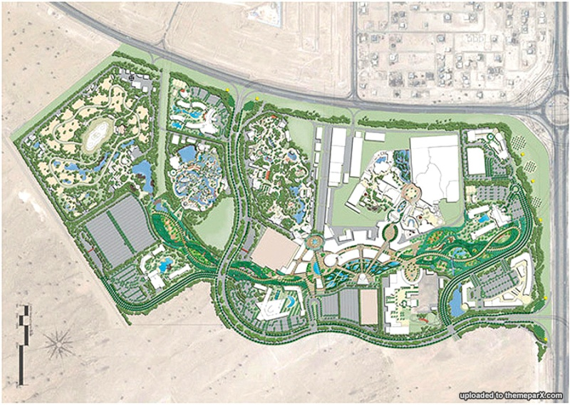 [ÉAU] Dubai Parks & Resorts : motiongate, Bollywood Parks, Legoland (2016) et Six Flags (2019) Jebel-10