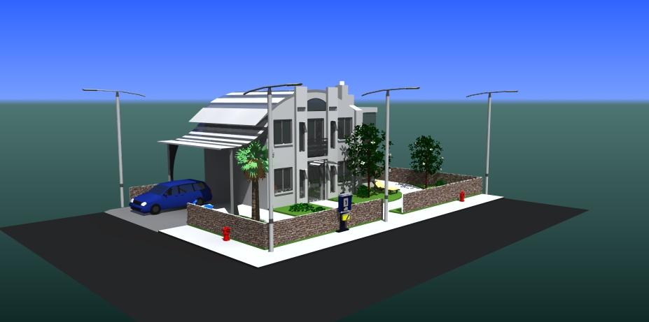 SketchUp'eur architecte -AnthO'- - Page 8 Maison10