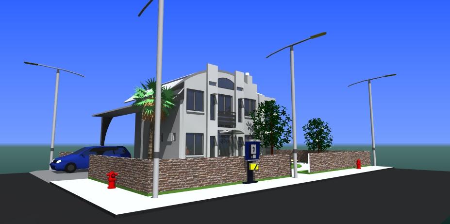 SketchUp'eur architecte -AnthO'- - Page 8 Maison11