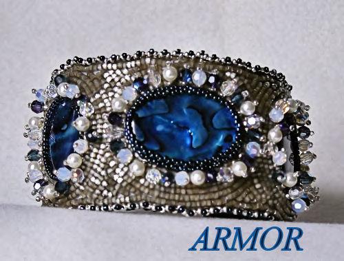 Bracelet brodé ARMOR Armor10