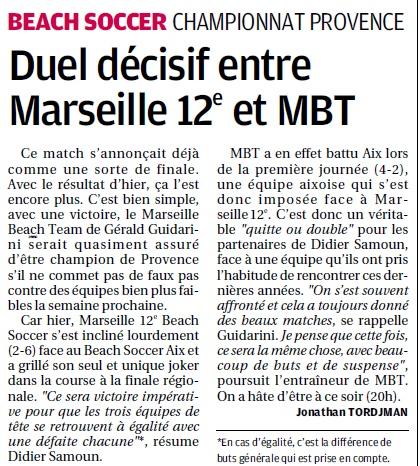 BEACH SOCCER A MARSEILLE /  MARSEILLE 12 EME MONTREDON ... - Page 2 2_bmp26