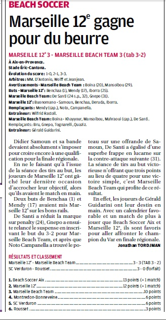 BEACH SOCCER A MARSEILLE /  MARSEILLE 12 EME MONTREDON ... - Page 2 2_bmp27