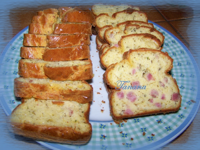 Cake Jambon  - Fromage Ail et Fines Herbes Cake10