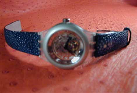 Bracelet en Galuchat G10_wa10