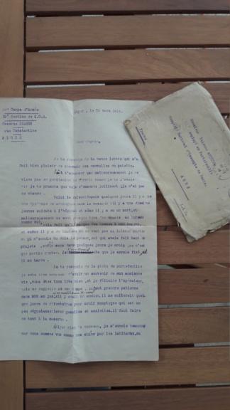 Correspondance coloniale 14.18 et journaux 40 20181010
