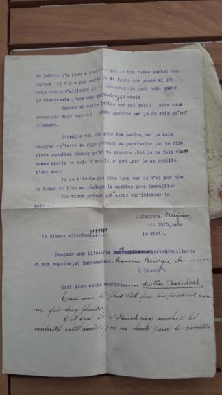 Correspondance coloniale 14.18 et journaux 40 20181014