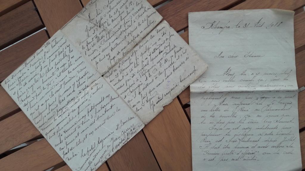 Correspondance coloniale 14.18 et journaux 40 20181015