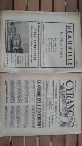 Correspondance coloniale 14.18 et journaux 40 20181021