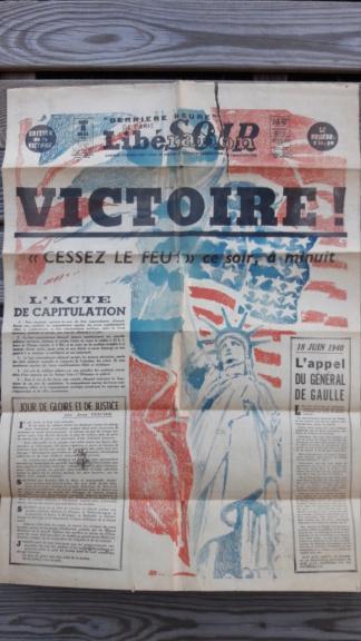 Mai-septembre 1945 : les journaux de la fin de la Seconde Guerre mondiale 20190447