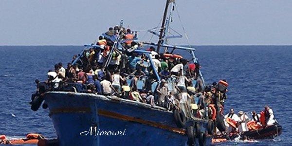 البحرية الملكية المغربية الملاك الحارس لشمال إفريقيا Immigr12