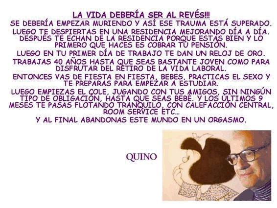QUINO.- LA VIDA DEBERÍA SER AL REVÉS Quino10