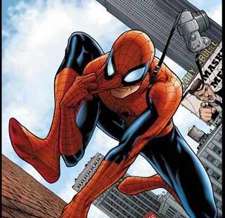 Un bombero se disfraza de Spiderman para rescatar a un niño Vvv17