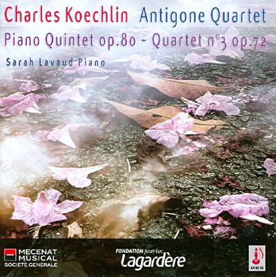 Koechlin - Quintette avec Piano Op.80 37600610