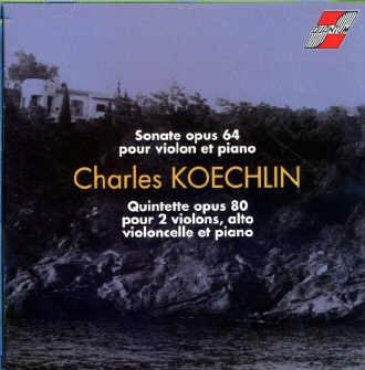 Koechlin - Musique de Chambre et Solos (Piano, flûte etc.) Resize10