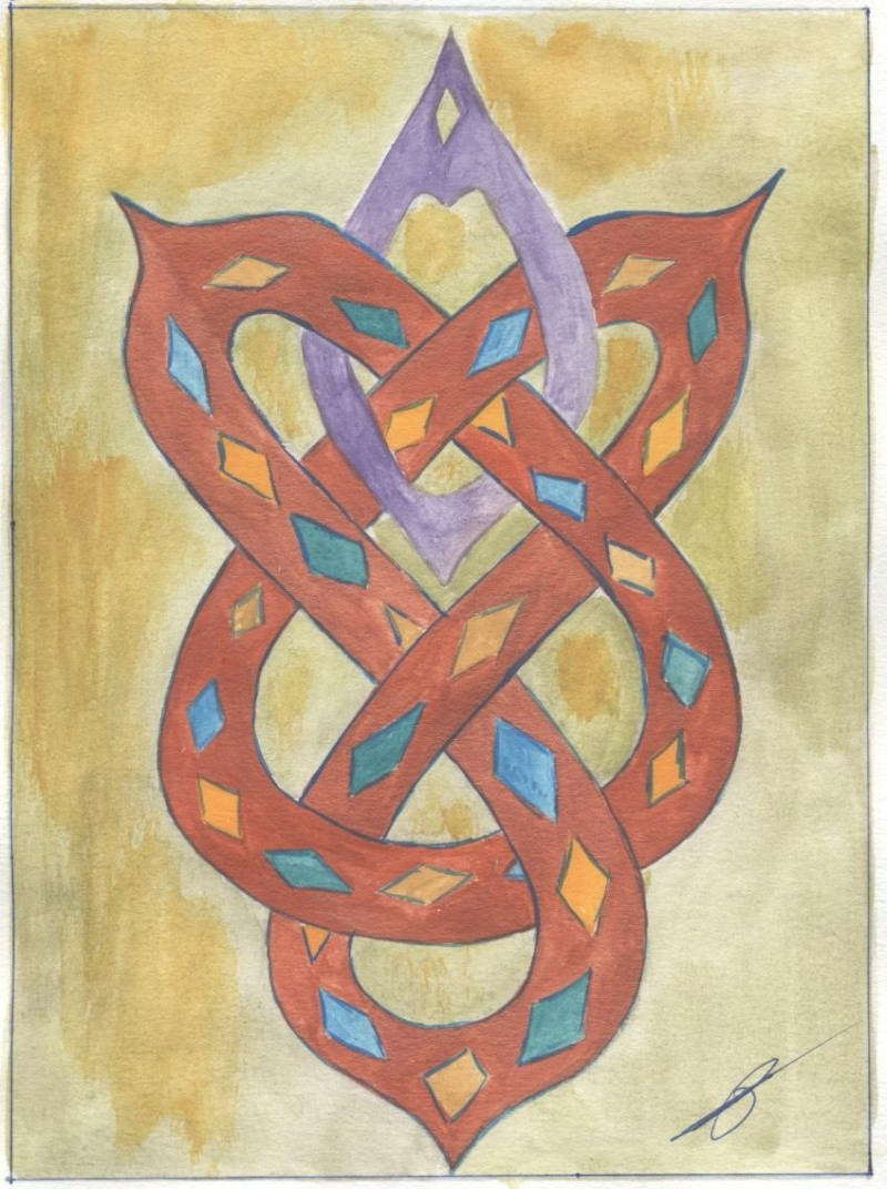 J'aime les entrelacs et autres dessins celtiques Entrel12