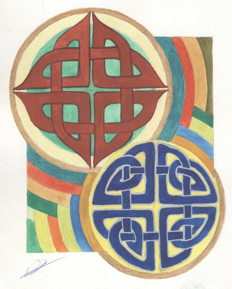 J'aime les entrelacs et autres dessins celtiques - Page 5 Entrel15