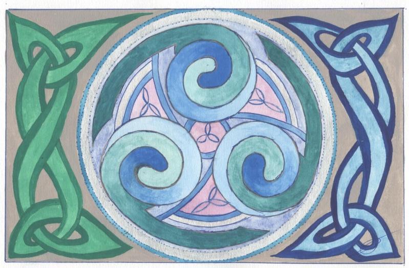 J'aime les entrelacs et autres dessins celtiques - Page 2 Planat10