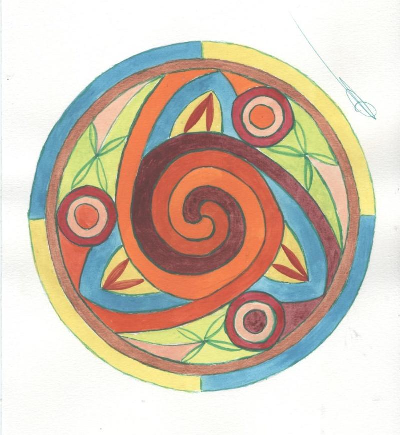 J'aime les entrelacs et autres dessins celtiques - Page 5 Spiral10