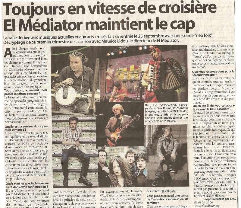 PROGRAMME 2009/2010 DU MEDIATOR Mediat10