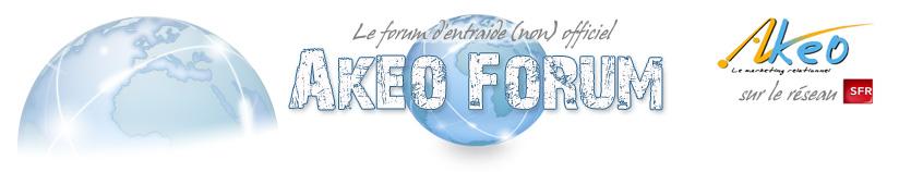 Akéo : le forum non officiel