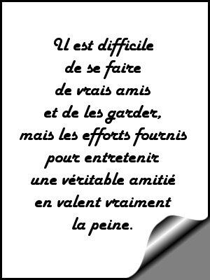 Poèmes Damitié