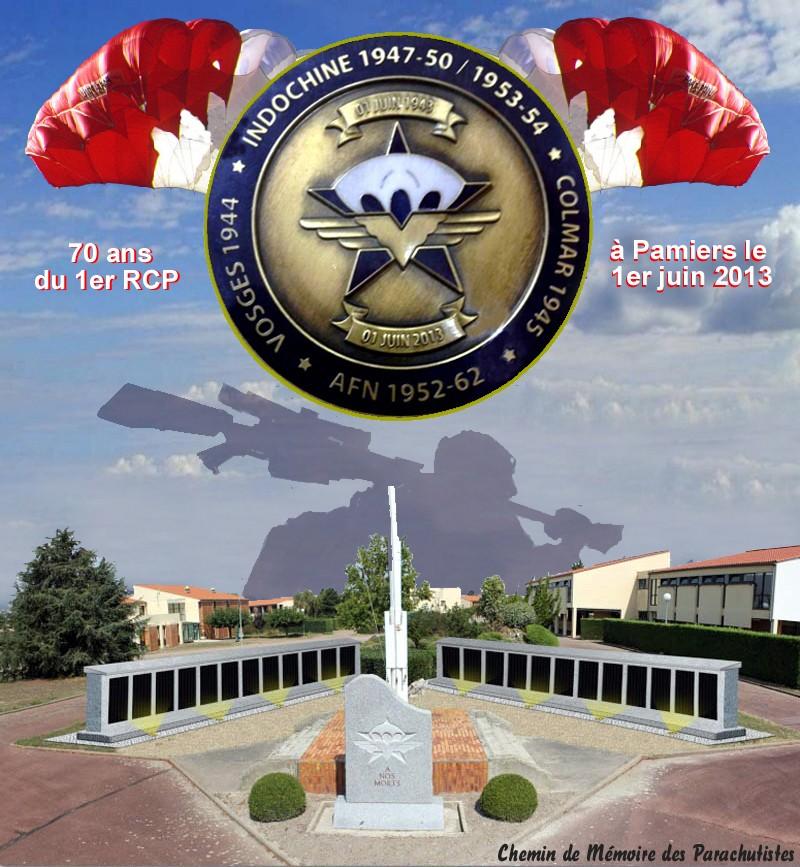 MÉMORIAL DU 1er R. C. P. à Pamiers (Quartier capitaine Beaumont.) - Page 4 2_foru11