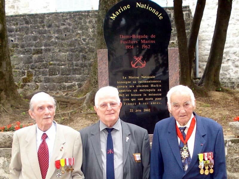 Commémoration le 15 juin 2013 de cinquante et un ans de fidélité et de solidarité entre Fusiliers marins et Harkis 2_larg10