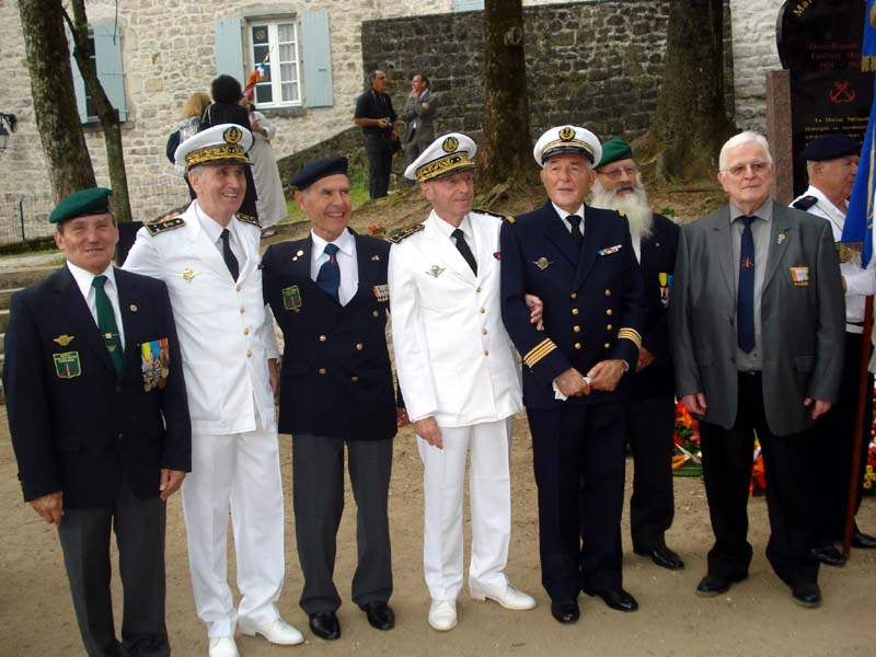 Commémoration le 15 juin 2013 de cinquante et un ans de fidélité et de solidarité entre Fusiliers marins et Harkis 5_larg10