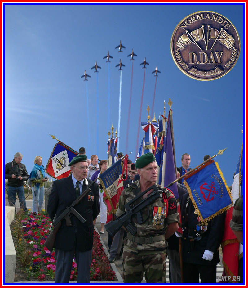 Le 69ème anniversaire du débarquement ( commando Kieffer) en Nomandie 5_para10