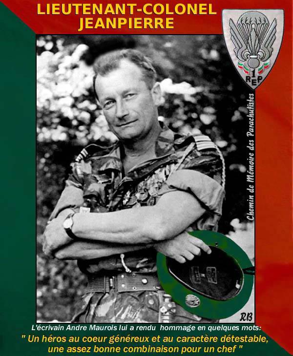 Le Lieutenant-Colonel Jeanpierre Un soldat de légende 6_sup_10