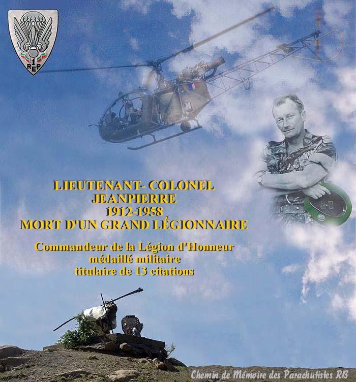 Le Lieutenant-Colonel Jeanpierre Un soldat de légende 7_titr10