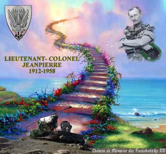 Le Lieutenant-Colonel Jeanpierre Un soldat de légende 8_titr10