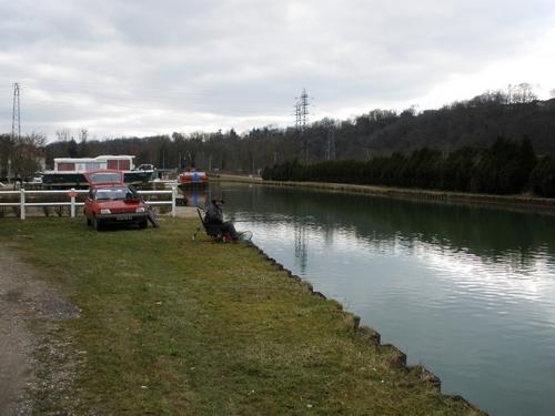 """Partie de pêche à Chaumont """"La Maladière"""" P3130011"""