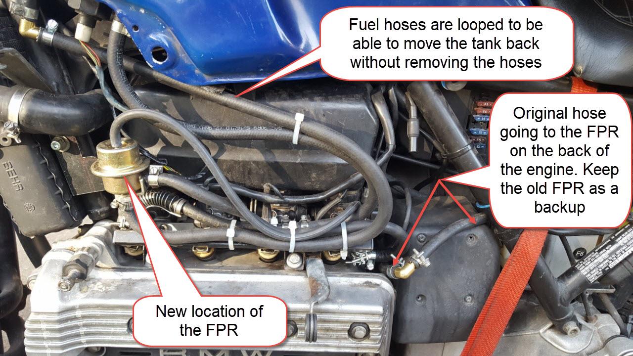 Relocating the Fuel Pressure Regulator 20190710