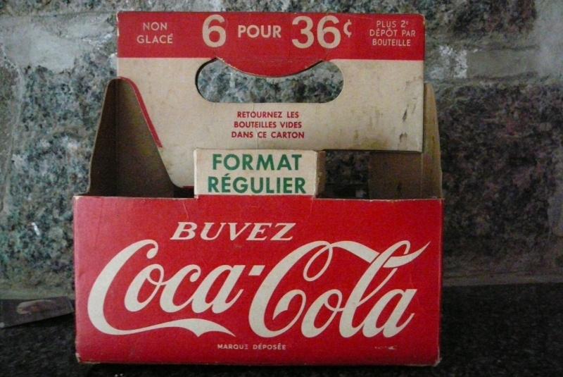 6 pack coca cola--  Date s.v.p. P1050811