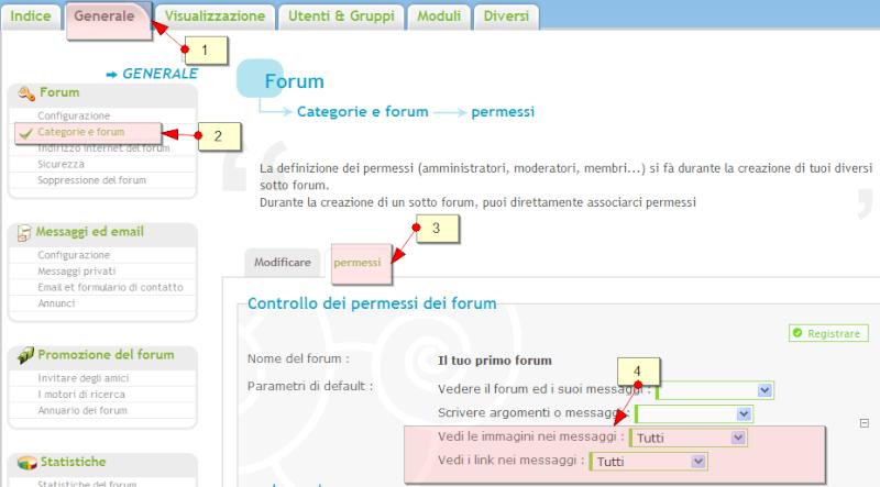 Nuove funzionalità: promozione del forum, aumento del traffico, ecc Permes11